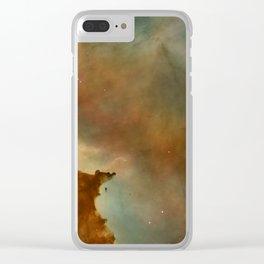 Carina Nebula Details -  Great Clouds Clear iPhone Case