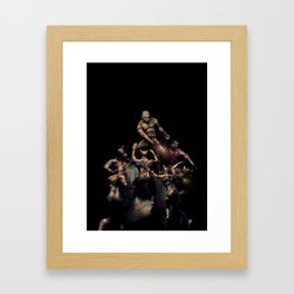 The Ultimate Doom (Solo Black) Framed Art Print