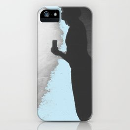 Silhouette Junkie iPhone Case