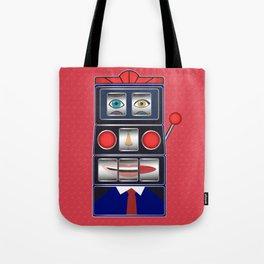 Poker Face Tote Bag