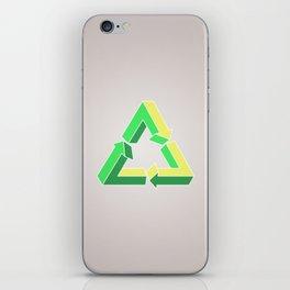 Recycle Infinitely iPhone Skin