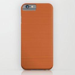 Terracotta 900°C iPhone Case