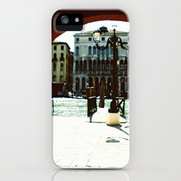 Venice - Archway onto the Grand Canal iPhone Case