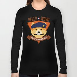 Hello wow, Omelette du Fromage So Much Long Sleeve T-shirt