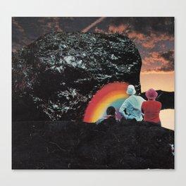 Rock of Love Canvas Print