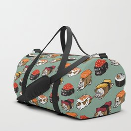 Sushi English Bulldog Duffle Bag