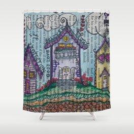 Lil' Village Shower Curtain