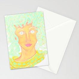 Medusa Manipulated Stationery Cards