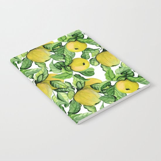 Yellow apples Notebook