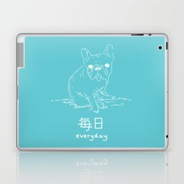 French Bulldog (mainichi) Laptop & iPad Skin