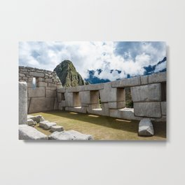 Temple of the Three Windows Metal Print