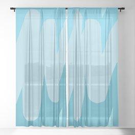 Broken Lines Sheer Curtain