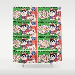 Botan Rice Candy Shower Curtain