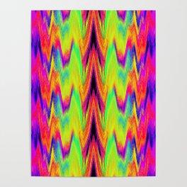 Rainbow Mountain Poster