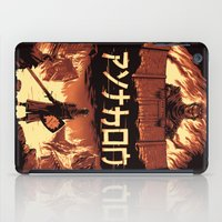monty python iPad Cases featuring Attack on Python by Dave Collinson