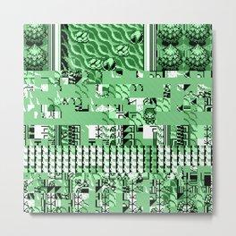 PalletGlitch Metal Print