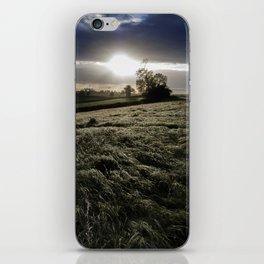 Sunset over Somerset iPhone Skin