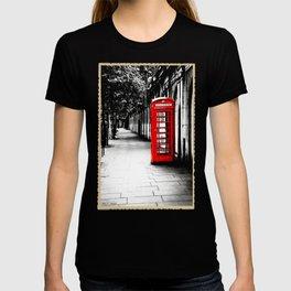 London Calling - Classic British Telephone Box T-shirt