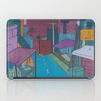 seoul iPad Cases featuring Seoul City #2 by Rob McClelland