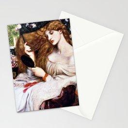 Lady Lilith - Dante Gabriel Rossetti Stationery Cards