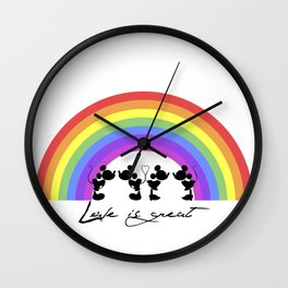 It's not about who you love... Wall Clock