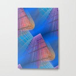 citylines -6- Metal Print