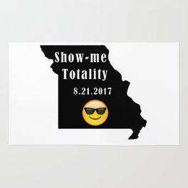 Missouri eclipse - show me totality Rug