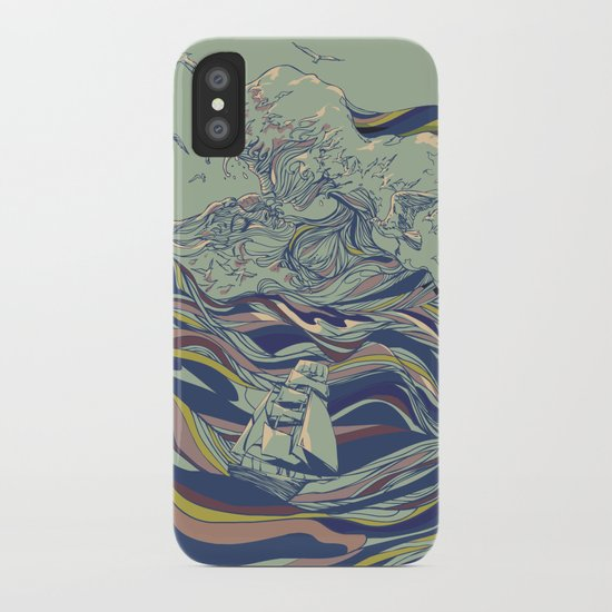 OCEAN AND LOVE iPhone Case