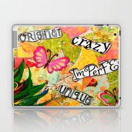 I Am Beautiful Mixed Media Laptop & iPad Skin