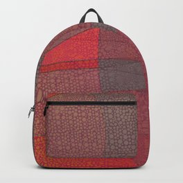 """""""Pastel Abstract Symmetrical Landscape"""" Backpack"""
