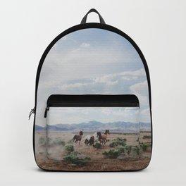Running Horses Backpack
