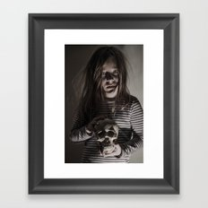 Come, sweet death Framed Art Print