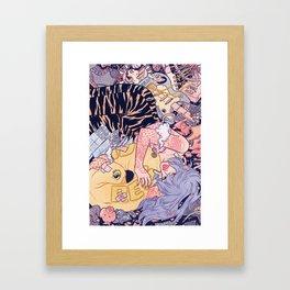Goin' Nowhere Framed Art Print