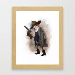 Rooster Cogburn Framed Art Print