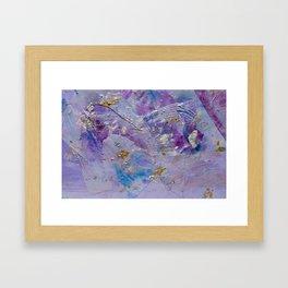Silver Cloud Framed Art Print