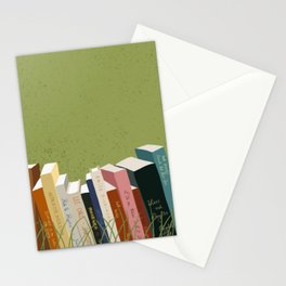 Books in Nature Stationery Cards