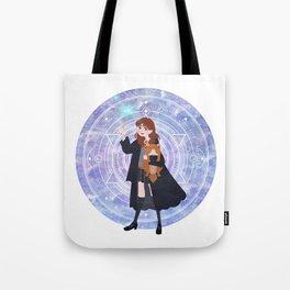 Magic Girl Tote Bag