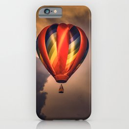 Drifting Among The Clouds iPhone Case