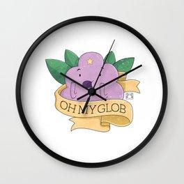Oh my Glob! Wall Clock