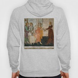 "Sandro Botticelli ""Venus and the Three Graces Presenting Gifts to a Young Woman"" Hoody"