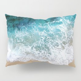 Ocean Waves I Pillow Sham