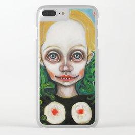 Garden Eden Clear iPhone Case