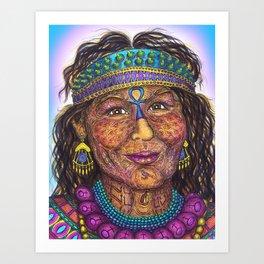 Wisdom Keeper Color #41 (Anticipation) Art Print