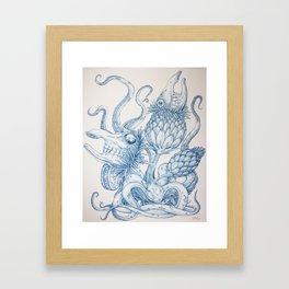 Tarandarus Flosculus (B) Framed Art Print