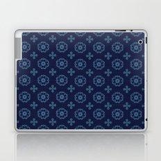Blue Floral Laptop & iPad Skin