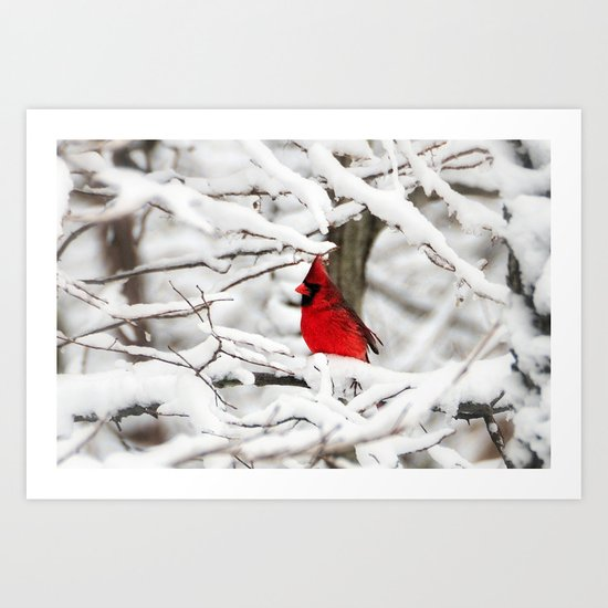Standing out Art Print