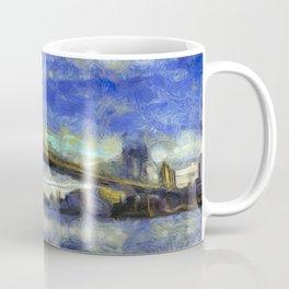 Manhattan Bridge New York Art Coffee Mug