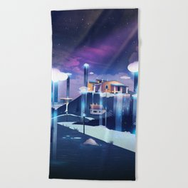 Rain Dance Beach Towel