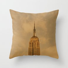 Empire State Isolation (for devices) Throw Pillow