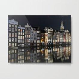 Reflejo Amsterdam Metal Print